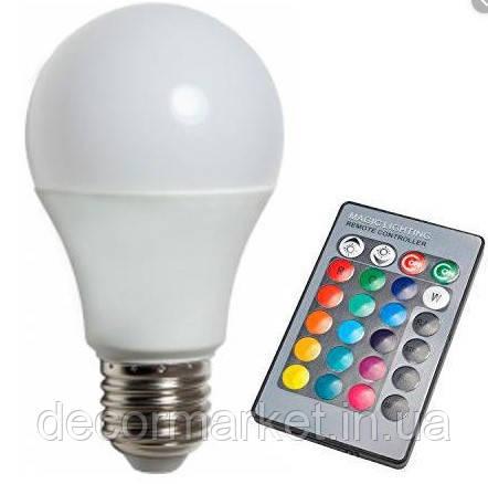 Лампа LED RGB 5W с ДПУ