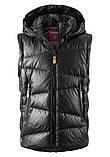 Зимняя пуховая куртка - жилетка для мальчика Reima Martti 531345.9-9990. Размеры 122 - 152., фото 5