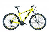 "Велосипед горный 27.5"" Leon XC 70 HDD 2019 (рама 20"", желтый)"