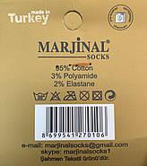 Носки мужские 100% шёлковый хлопок Marjinal, Турция, ароматизированные, без шва, коричневые, 780, фото 4