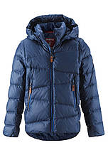 Зимняя пуховая куртка - жилетка для мальчика Reima Martti 531345.9-6760. Размеры 128 - 164.