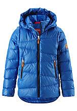 Зимняя пуховая куртка - жилетка для мальчика Reima Martti 531345.9-6500. Размеры 104 - 164.