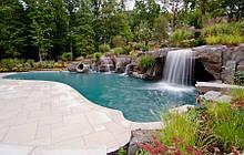 Побудувати Плавальний Ставок. Будівництво - Дизайн Сухі Будівельні Суміші, Цемент, Пісок, Дикий Камінь