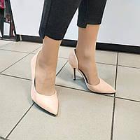 Туфли женские на шпильке персиковые Even@Odd, 39