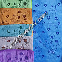Кухонное полотенце микрофибра 25х50 Крыска loves