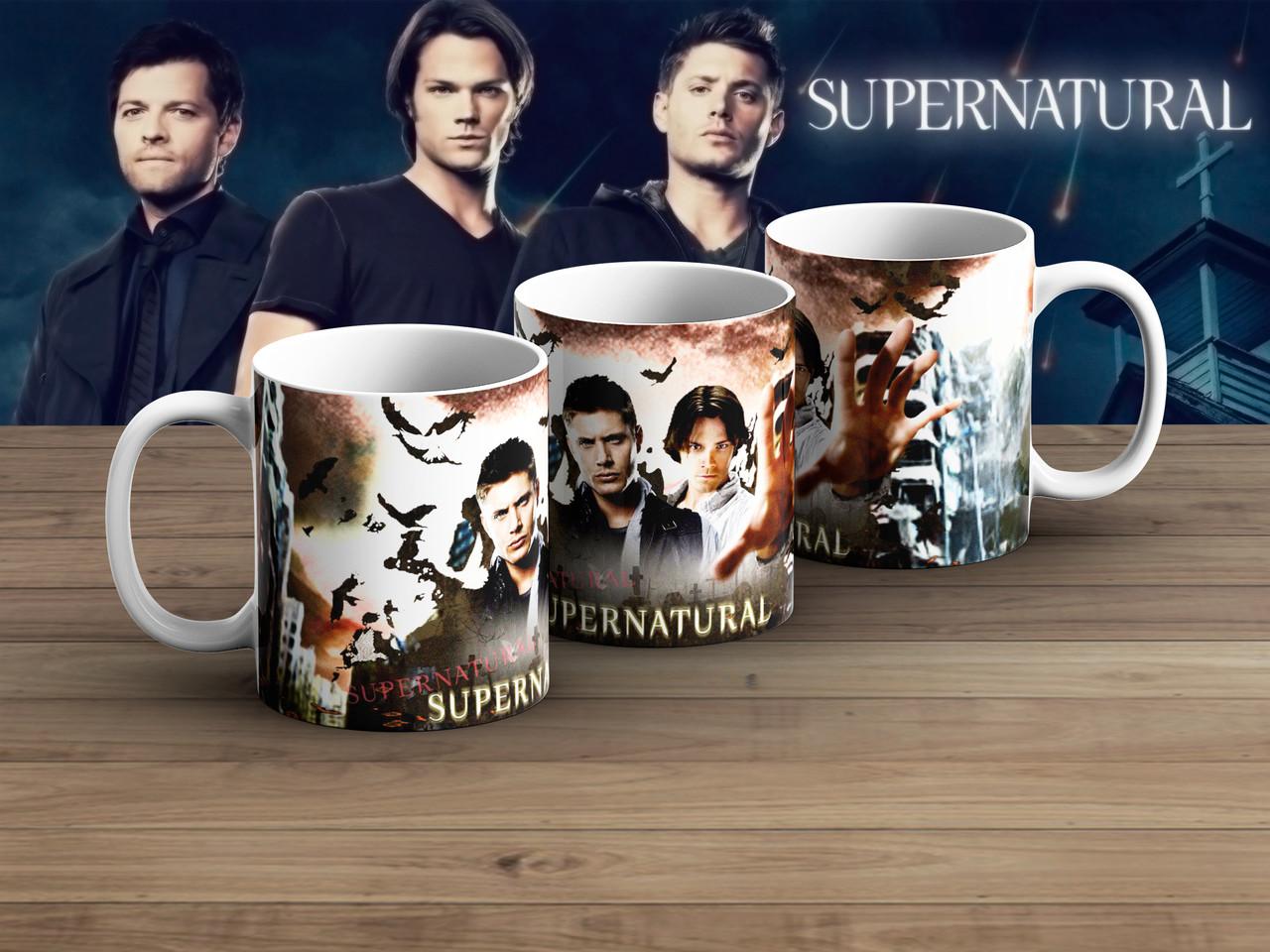 Чашка Сэм с силой Сверхъестественное / Supernatural