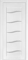Дверь межкомнатная Terminus Модель 202 Ясень белый Эмаль