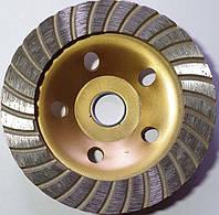 Чашка алмазная по бетону Craftmate турбо диаметр 125мм