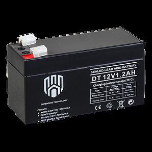 Акумулятор DT 12V 1.2 Аһ Defending Technology