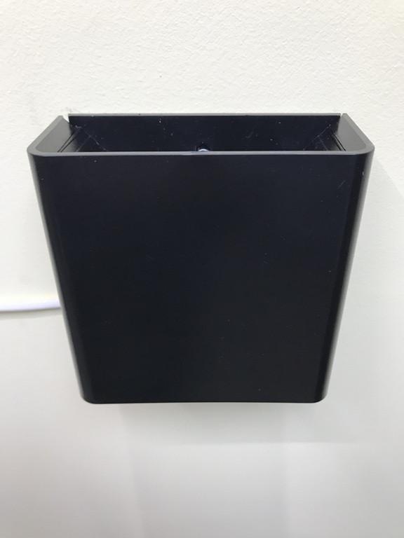Светодиодный фасадный светильник двухсторонний  DH028 3W черный Код.59399
