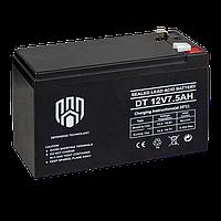 Аккумулятор DT 12V 7.5Ah Defending Technology