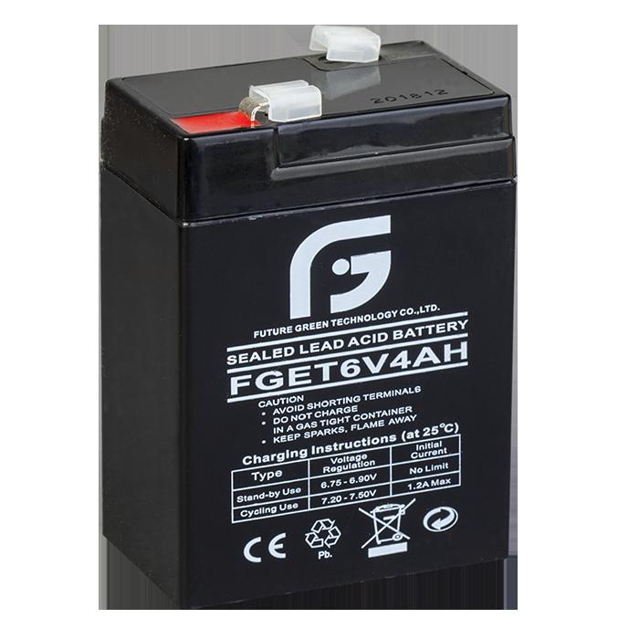 Аккумулятор 6V 4Ah FGET, 70х101х47 (мм)