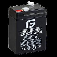 Аккумулятор 6V 4Ah FGET