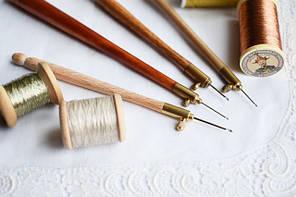 Крючки и иглы для вышивки