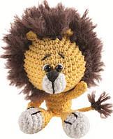 """Набор для вязания крючком Mini Crochet Kit No.01 """"Львёнок"""""""