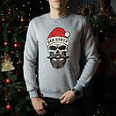 "Мужской свитшот Pobedov sweatshirts ""Bad Santa"", три цвета, фото 10"