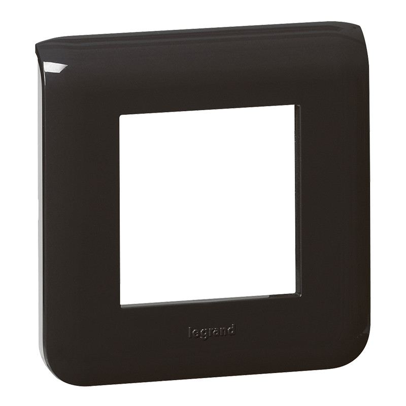 MOSAIC Рамка 2 модуля, колір Чорний