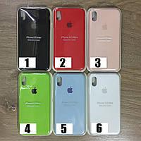 Чехол Накладка Silicone Case iPhone XS max