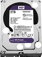 """Hdd диск для видеонаблюдения на 2 Тб 3.5"""" SATA WD Purple"""