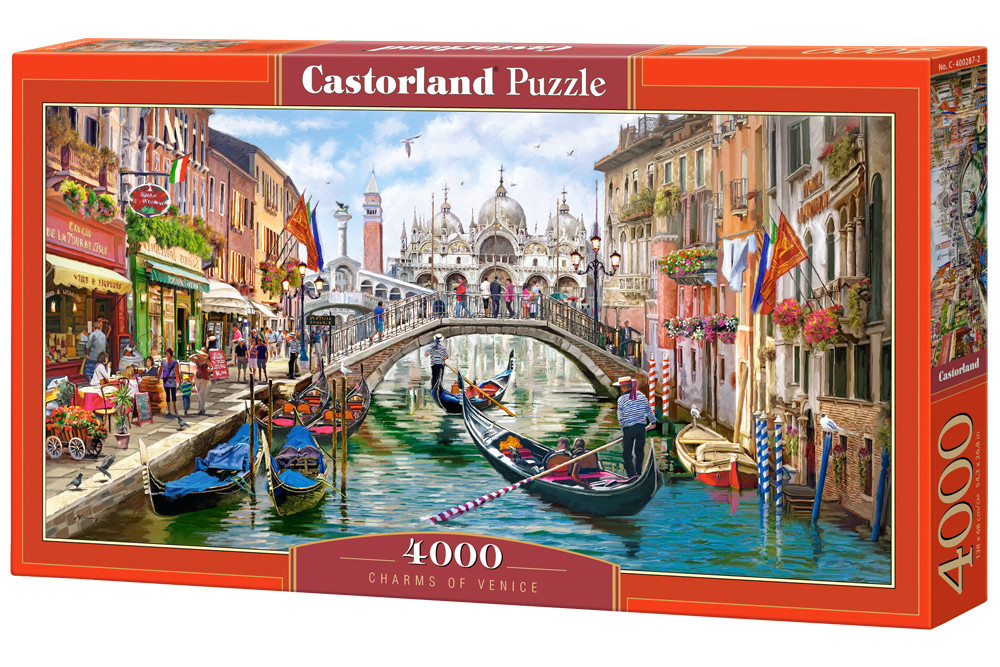 """Пазли Castorland на 4000 деталей """"Чарівності Венеції"""" (C-400287)"""