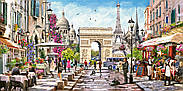 "Пазли Castorland на 4000 елементів ""Шарм Парижу"", фото 2"