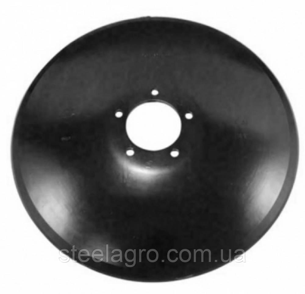 Диск борони ф560х6мм,d105 5отв. 14мм гладкий/ромашка Case Ecolo Tiger Кейс (87443010/33552255)