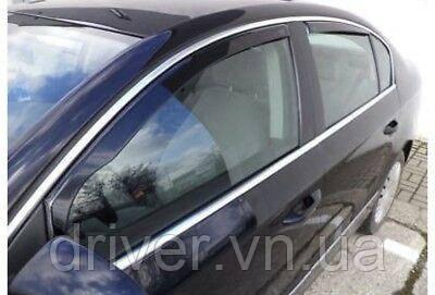 Дефлектори вікон вставні BMW 5 Series Е60 2004 -> 4D  Sedan