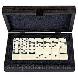 Домино подарочное в деревянной коробке DLE10