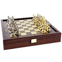 Шахматы элитные в эксклюзивном ВИП футляре из натурального дерева Греко Римский период SK3BRO