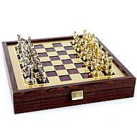 Шахматы элитные в эксклюзивном Вип футляре из натурального дерева Греко Римский период SK3RED