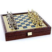 Шахматы эксклюзивные в элитном вип кейсе из натурального дерева Греко Римский период SK3BLU