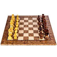 Шахматы элитные с инкрустацией из эксклюзивного дерева Орех SW44B50J