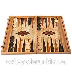 Нарды эксклюзивные подарочные из элитного деревянного шпона BLL1