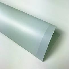 Водостойкая бумага тишью из пластика нежно мятная