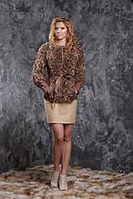 Меховая куртка из калгана и нежнейшей кожи ягненка