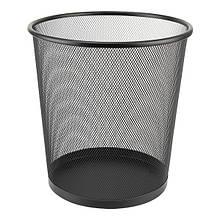 Корзина для бумаг  металлическая  сетка