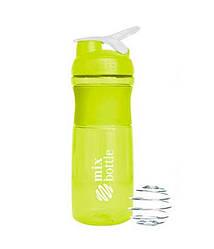 A_mix bottle - shaker 760мл - зеленый