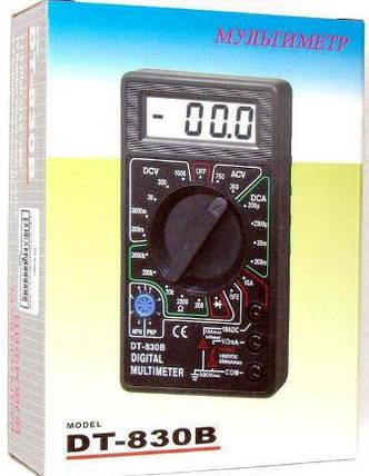 Цифровой мультиметр DT-830B, фото 2