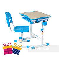 Детская парта со стульчиком FunDesk Piccolino Blue, фото 1