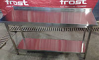 Производственный стол 800*700*850 нержавеющая сталь