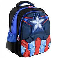 Школьный рюкзак с 3-Д картинкой Traum арт. 7005-53