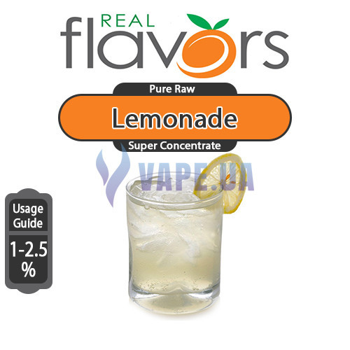 Ароматизатор Real Flavors Super Concentrate Lemonade (Лимонад), 5 мл.