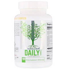 Витамины и минералы Universal Nutrition Daily Formula (100 таб.)