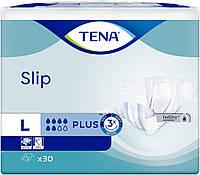 Подгузники для взрослых TENA Slip Plus Large 30. Размер L (обхват талии 90-145 см.)