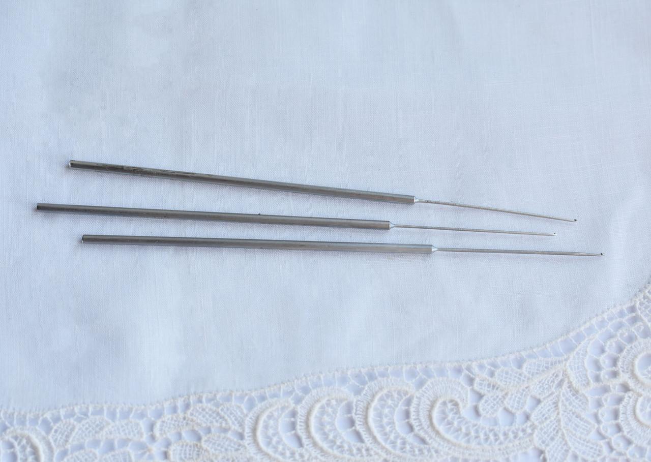 Гачок для вишивки індійський металевий