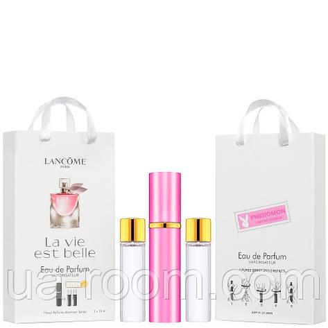 Мини-парфюм женский Lancome La Vie Est Belle, 3х15 мл, фото 2