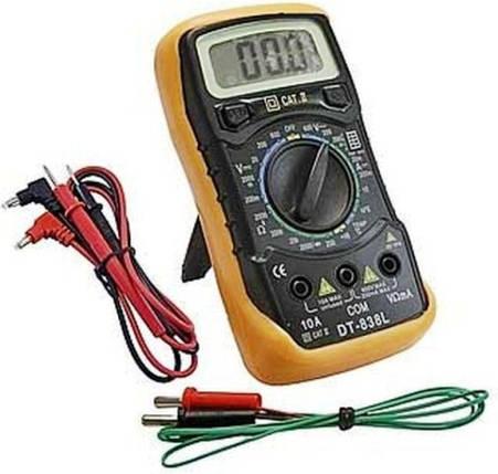 Малогабаритный измерительный мультиметр DT 838 , фото 2