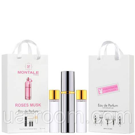 Мини-парфюм унисекс Montale Roses Musk, 3х15 мл, фото 2