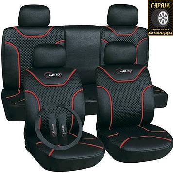 Чехлы сидений Milex Classic Черные полный комплектAG-7262/1