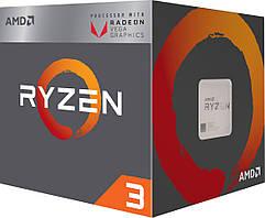 Процесор AMD Ryzen 3 2200G (YD2200C5FBBOX) 4C/4T + Vega 8